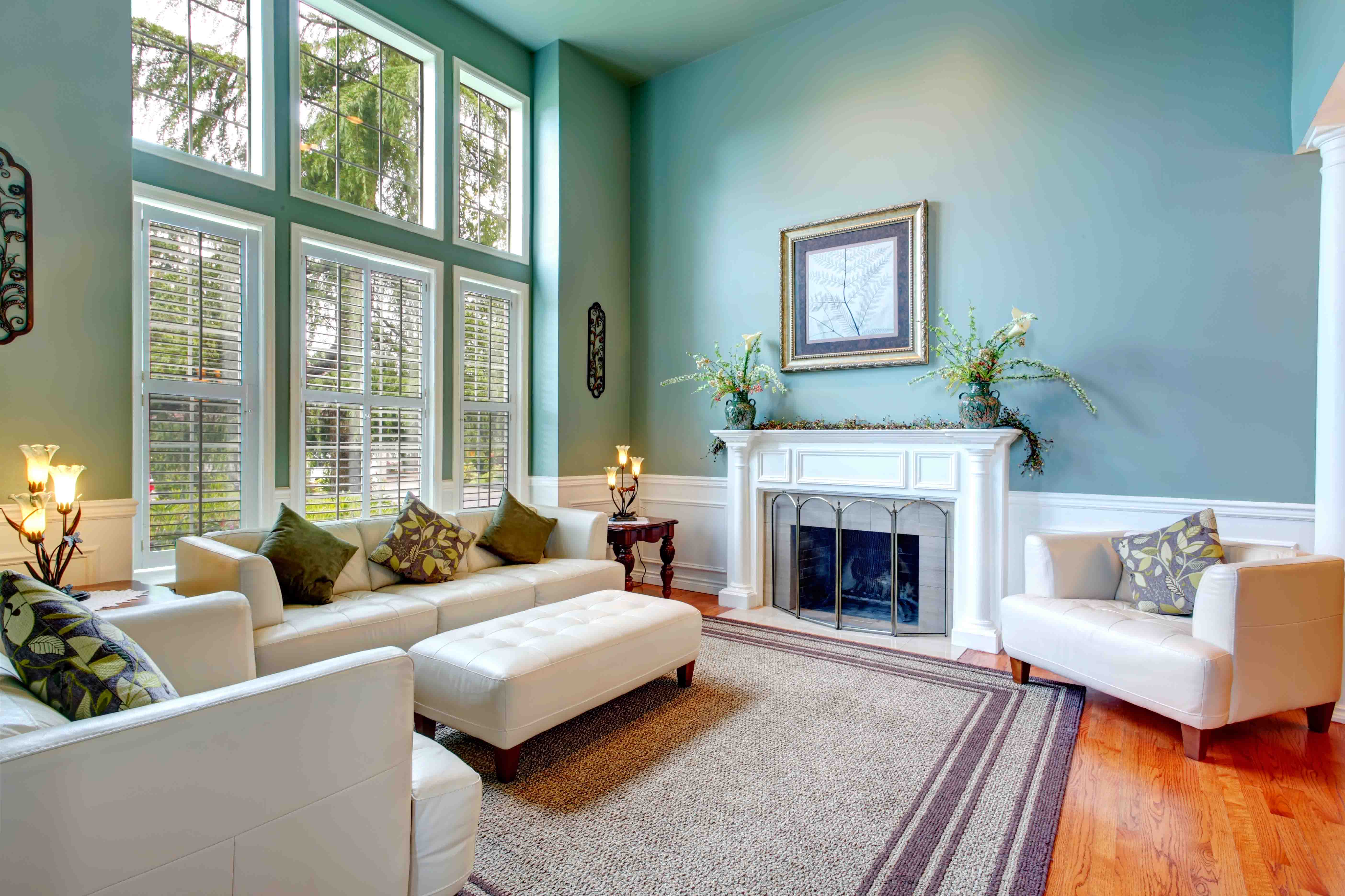 residential home interior livingroom